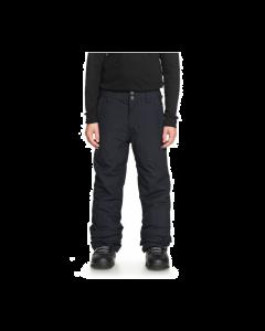 Quiksilver Estate Boys Ski Pants, Black