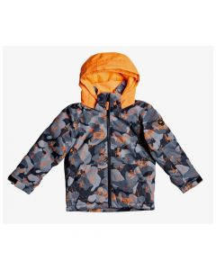 Quiksilver Little Mission Kids Ski Jacket - Orange EQKTJ03013NKR7