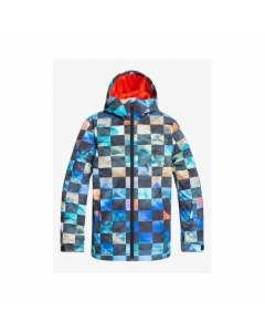 Quiksilver Mission Print Youth Jacket Poinciana