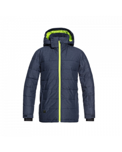 Quiksilver The Edge Boys Ski Jacket - Dress Blues Save 25%