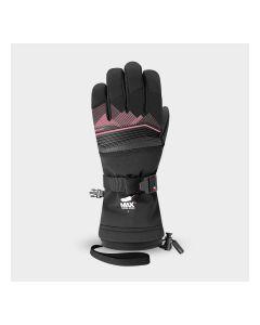 Racer Junior Performance Goose Down Ski Gloves - Pink