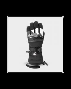 Racer Junior Performance Goose Down Ski Gloves - Black/White