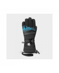 Racer Junior Performance Goose Down Ski Gloves - Blue