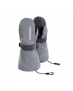 Didriksons Biggles Ski Mittens - Reflective Silver