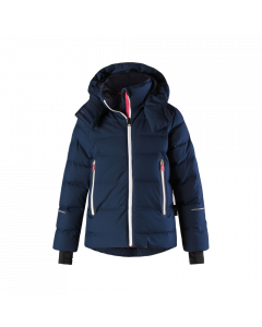 Reima Waken Down Ski Jacket, Navy - save 25% 9-10 yrs only