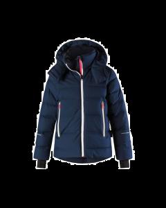 Reima Waken Down Ski Jacket, Navy - save 25% 9-10 yrs only