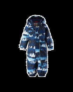 Reima Winter Overall - Puhuri Jeans Blue