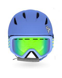 Giro Launch Helmet & Goggle Combo Set, Blue Micro Daisy