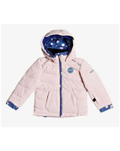 Roxy Anna Girls Ski Jacket - Powder Pink ERLTJ03015