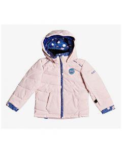 Roxy Anna Girls Ski Jacket - Powder PinkERLTJ03015