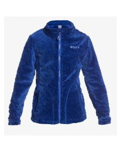 Roxy Igloo Girls Supersoft Fleece - Mazarine Blue