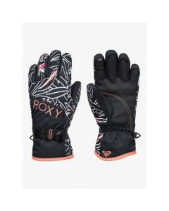 Roxy Jetty Girl Gloves - Black Outlines