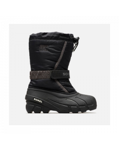 Sorel Childrens Flurry Snow Boot Black/City Grey