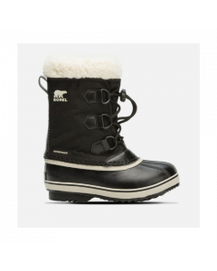 Sorel Yoot Pac Nylon Kids Snow Boots Black - save 20%