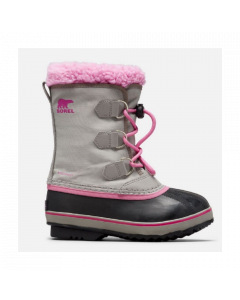 Sorel Childrens Yoot Pac Nylon Snow Boots Chrome Grey - save 10%