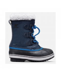 Sorel Childrens Yoot Pac Nylon Snow Boots Collegiate Navy/Super Blue
