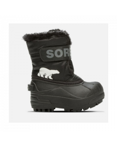 Sorel Snow Commander Kids Snow Boots - Black