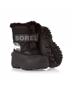 Sorel Snow Commander Kids Winter Boots, black - save 25%