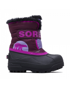Sorel Snow Commander Kids Winter Boots, Purple Dahlia - save 25%