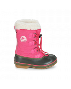Sorel Yoot Pac Nylon Kids Snow Boots, Ultra Pink - save 40%
