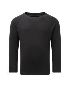 Steiner Kids Soft-Tec Long Sleeve Thermal Top - Black