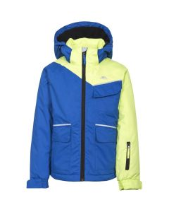 Trespass Boomkin Boys Ski Jacket, Blue - Save 35%