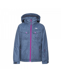 Trespass Blackspin Ski Jacket, Dark Denim - save 20%