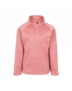 Trespass Celina Kids Ski Fleece, Dusty Rose