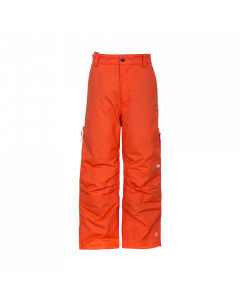 Trespass Contamines Unisex Ski Pants, Hot Orange