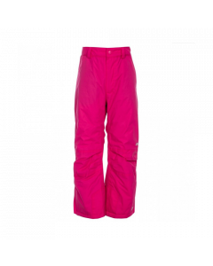 Trespass Contamines Unisex Ski Pants, Pink Lady