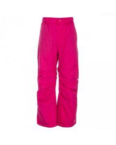 Trespass Contamines Unisex Ski Pants, Pink Lady