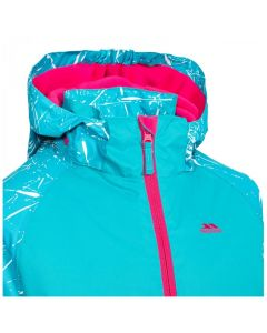 Trespass Lottar Girls Ski Jacket - Marine Print