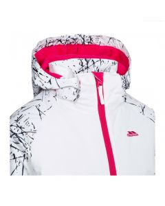 Trespass Lottar Girls Ski Jacket - White Print