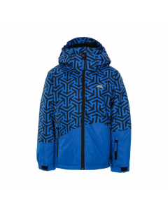 Trespass Pointarrow Boys Ski Jacket - Blue Print save 20%