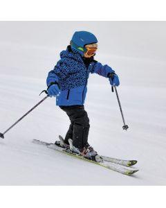 Trespass Pointarrow Boys Ski Jacket - Blue Print save 20%