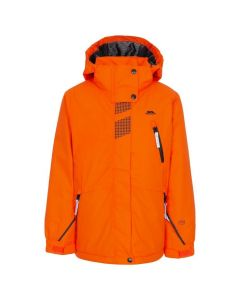 Trespass Rare - Boys Padded Waterproof Ski Jacket - Hot Orange