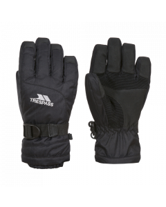 Trespass Simms Ski Gloves, Black