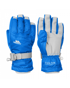 Trespass Simms Ski Gloves, Blue - save 20%