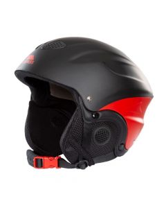Trespass Skyhigh Adults Ski Helmet - Black/Red