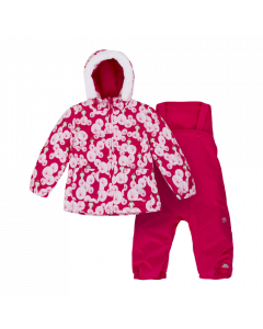 Trespass Squeezy Ski Suit, Raspberry