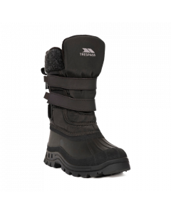 Trespass Strachan II Snow Boots, Black