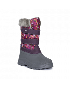 Trespass Vause Snow Boots, Floral Print