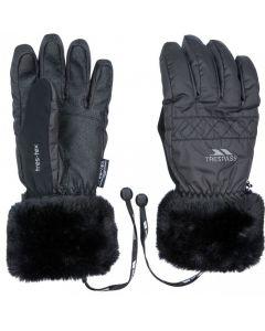 Trespass Yanki Ladies Ski Gloves, Black