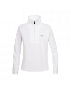 Trespass Youth/Ladies Shiner Microfleece, White