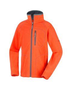 Columbia Fast Trek ll Full Zip Youth Fleece Orange - X Large Only