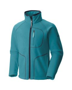 Columbia Fast Trek ll Full Zip Youth Fleece Pacific Rim - Large Only