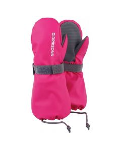 Didriksons Biggles Kids Ski Mittens - Plastic Pink - save 25% (8-10 yrs only)