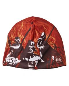 Buff Shadow Boys Polar Ski Hat, Black Flame