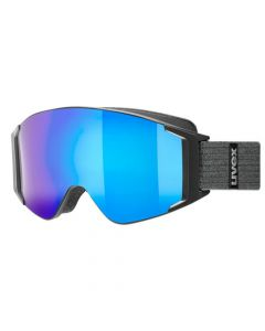 Uvex GL3000 TO ski goggles, mirror blue lens