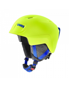 UVEX Junior Manic Pro Ski Helmet - Neon Yellow - save 25%